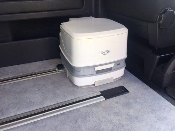 Base inodoro quimico potty