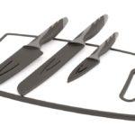 Tabla corte + cuchillos Caldas