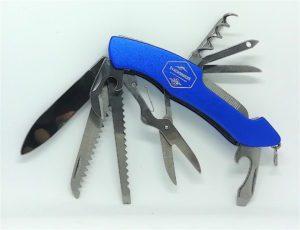 Navaja Multiusos Inox 8 herramientas